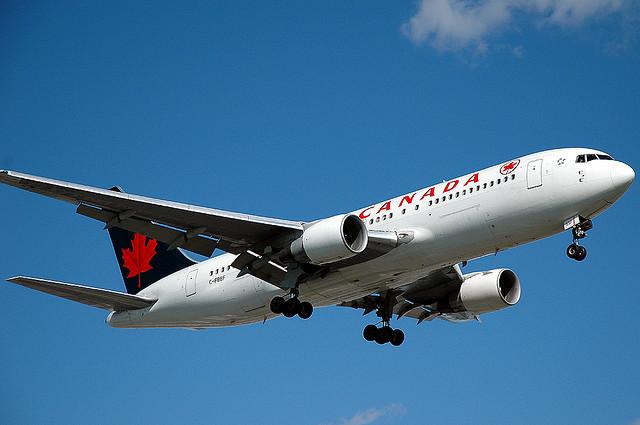 Air Canada - Bright Future Ahead - Photo by Caribb