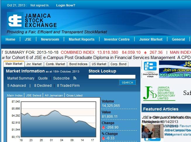 economic analysis of jamaica
