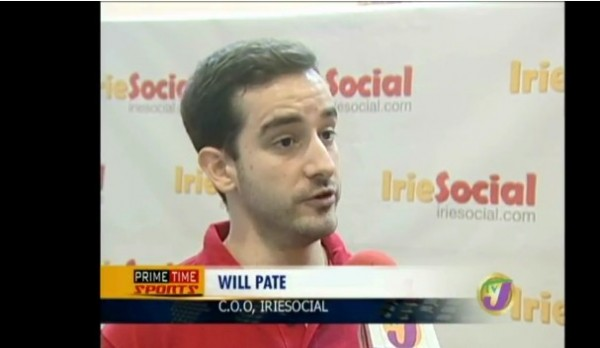Will Pate - COO IrieSocial