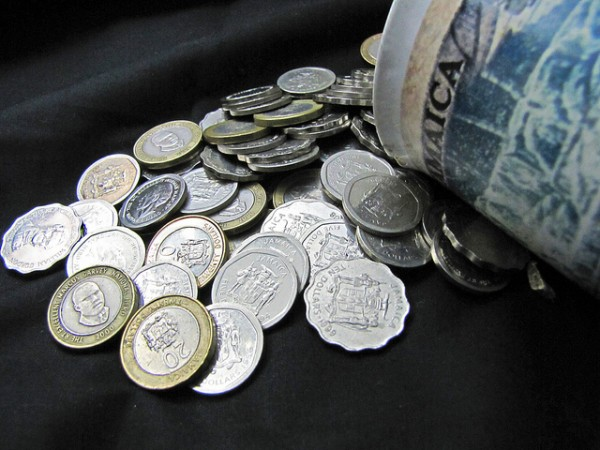 Jamaican Money - Coins Photo by JAHeadley